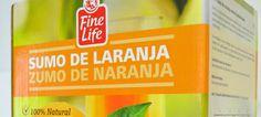 Makro apresenta sumo de laranja Fine Life