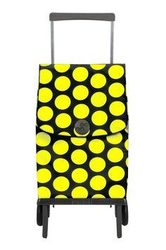 Carrinho dobrável Rolser - Plegamatic Sol amarelo e preto