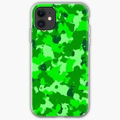 'Light Green hue camo' iPhone Case by MidnightBrain Iphone Wallet, Iphone 11, Cell Phone Cases, Iphone Case Covers, Canvas Prints, Art Prints, Hue, Camo, It Works