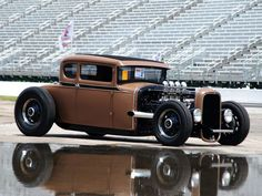 Ford Model A Coupe Hot Rod