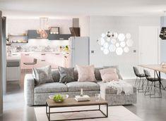 Salon Nova loft Love Seat, Nova, Couch, Furniture, Home Decor, Pastel Colors, White People, Settee, Decoration Home