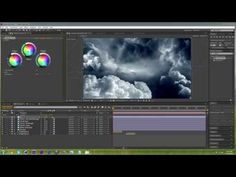 How to create 3D clouds | After Effects CC Tutorial - YouTube