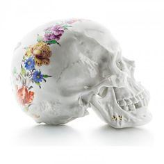 Andreas Murkudis - 25 Porcelain Skulls - Nymphenburg