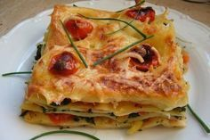 zeleninove lasagne Quiche, Healthy Life, Zucchini, Vegetables, Cooking, Breakfast, Ethnic Recipes, Food, Style