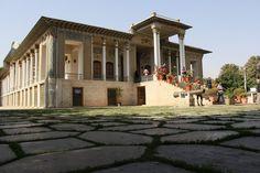 afif abad garden in shiraz