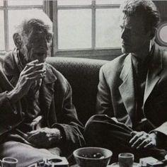 """Correva l'anno 1994 e il leggendario pittore francese di origine polacca Balthus, alla veneranda età di 86 anni, accettava di farsi intervistare da una """"rockstar"""" di nome David Bowie."""
