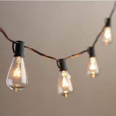 Edison Bulb Style Garden Light Set