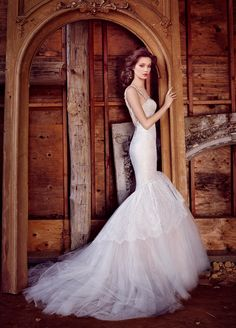 Bridal Gowns, Wedding Dresses by Lazaro - Style LZ3556