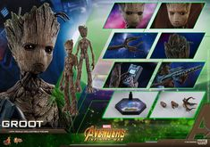 Avengers: Infinity War  1/6th Scale Groot Collectible Figure Coming Soon