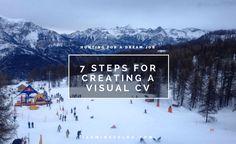 7 Steps for creating a visual CV - Jasmine Zelda