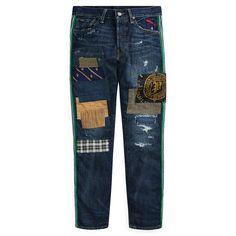 4fb443f343af Polo Ralph Lauren Jean Sullivan slim vieilli - Jeans Homme Ralph Lauren