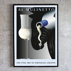 The fine Art of Drinking Grappa. Lava Lamp, Drinking, Table Lamp, Fine Art, Design, Home Decor, Style, Swag, Beverage