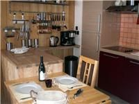 Sunny, south-facing self-catering chalet apartment in Monetier les Bains, with views of the pistes. Kitchen, Photos, Home, Green Houses, Cooking, Pictures, Kitchens, Ad Home, Homes