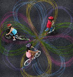 Chalktrail Turns Your Bike Into A Spirograph