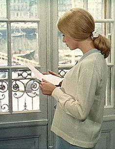 "Catherine Deneuve in ""The Umbrellas of Cherbourg"""