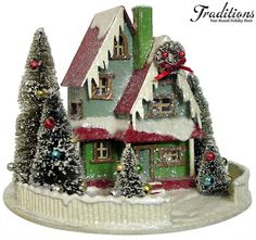 Cody Foster - webisite Paper Christmas Houses