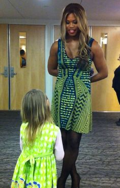 """""""My daughter, Caitlyn Jenner, and Laverne Cox"""" -- Not many articles/stories make me cry. This did. Sudden tears of joy and love."""