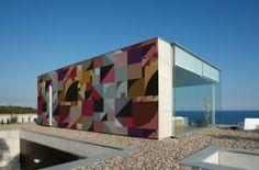 Bauhaus Outdoor Wallpaper
