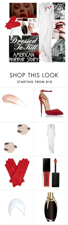 """The Countess AHS inspired Halloween Costume"" by leo8august ❤ liked on Polyvore featuring Wander Beauty, Christian Louboutin, Katie Rowland, Galvan, Episode, KEEP ME, Gizelle Renee and Smashbox"