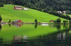 Lake Stryn, Norway