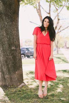 love wearing dresses