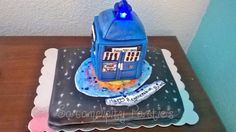 Dr. Who cake!