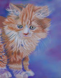 Kitten by Sarahharas07.deviantart.com on @DeviantArt