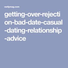 is casual dating bad
