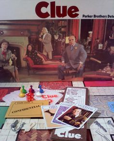 Vintage CLUE Board Game 1979 by sweetgyrlandpops on Etsy, $20.00