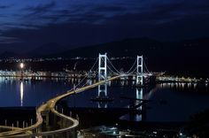 Night view from the Mt. Nabeshima. Looking for more information aboout Hokkaido? Go Visit Muroran City.  http://www.city.muroran.lg.jp/