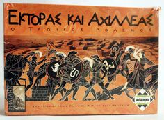 VERY RARE 2003 HECTOR & ACHILLES GREEK BOARD GAME PHALANX GAMES KAISA NEW MISB ! #PHALANX