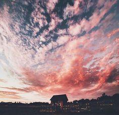 Imagen de pink, sky, and beautiful