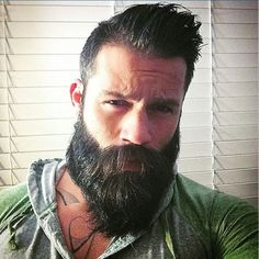 beards carefully curated — Jacob's mah beardo fine-fuckin'-ass Alpha Daddy.