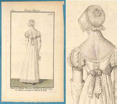 1809 Georgian Regency fashion print Costume by SylvestraRegency