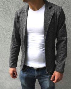 Памучно мъжко сако! Casual men's coat! #mensfashion #menswear #coat #menscoat #style   http://elza.bg/-14882.html