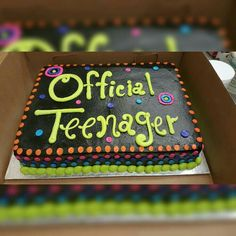 13th Birthday Party Ideas For Girls Cakes Teens 13