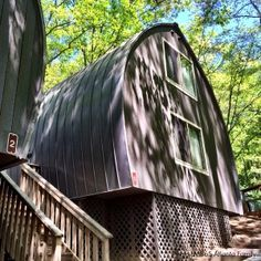 "Spend the night in a ""barrel cabin"" at Unicoi State Park in Helen, Georgia!"