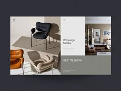 Connect with this designer on Dribbble, the best place for to designers gain inspiration, feedback, community, and jobs worldwide. Design Blog, Interior Design Website, Homepage Design, Interior Design Studio, Portfolio Design, Layout Design, Design Websites, Cheap Furniture, Furniture Design