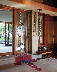 Aline Barnsdall Hollyhock House, East Hollywood, California, 1919–1921. Frank Lloyd Wright.
