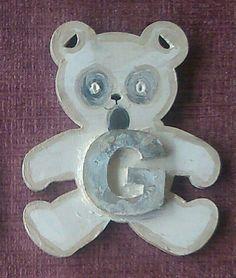 ghostly bear looking for a friend. letter 'G' on by ArtZeeboze