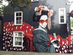 As reported a few days ago, our friend Fin DAC was recently in The Netherlands making additions to his 'Hidden Beauty' series.
