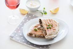 Gözleme de cordero, espinacas y feta. Una receta de Mónica del blog Recetas de Mon maridada con Merlot Rosado. #disfrutalavida