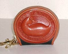 Dooney and Bourke All-Weather Big Duck coin purse