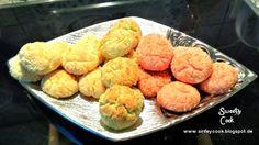 Kokoskekse in 3 Farben