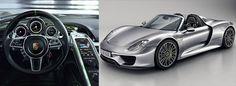 11. Porsche 918 Spyder = Velocidade Máxima: 344 km/h