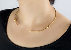 Hypatia: 18ct Gold Vermeil with 2 Diamond Cut White Sapphires