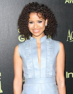 gugu mbatha-raw | Gugu Mbatha-Raw stepped out in leather for the Hollywood Foreign Press ...