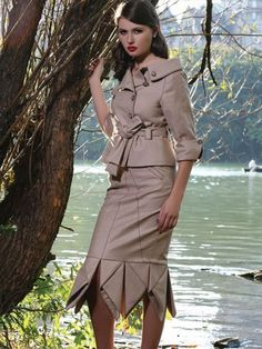 Central Park Look Book Shoot for Designer Tamae Ishii NYC.Photographer-Michael Creagh.Makeup-Jerry Lopez. Model Sally. Assistant Stylist  Stacy Phillips to Designer Tamae Ishii.