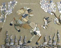 Pebble art from Hungary by tamas kanya #pebbleart#kavicsművész#kavicsképek#kavicsművészet