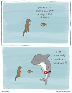 20 Adorably Funny Animal Comics by Liz Climo - New Liz Climo Comics Liz Climo Animal Comics - Funny Animal Comics, Funny Animal Memes, Cute Funny Animals, Funny Comics, Funny Cute, Funny Memes, Jokes, Hilarious, Cartoon Cartoon